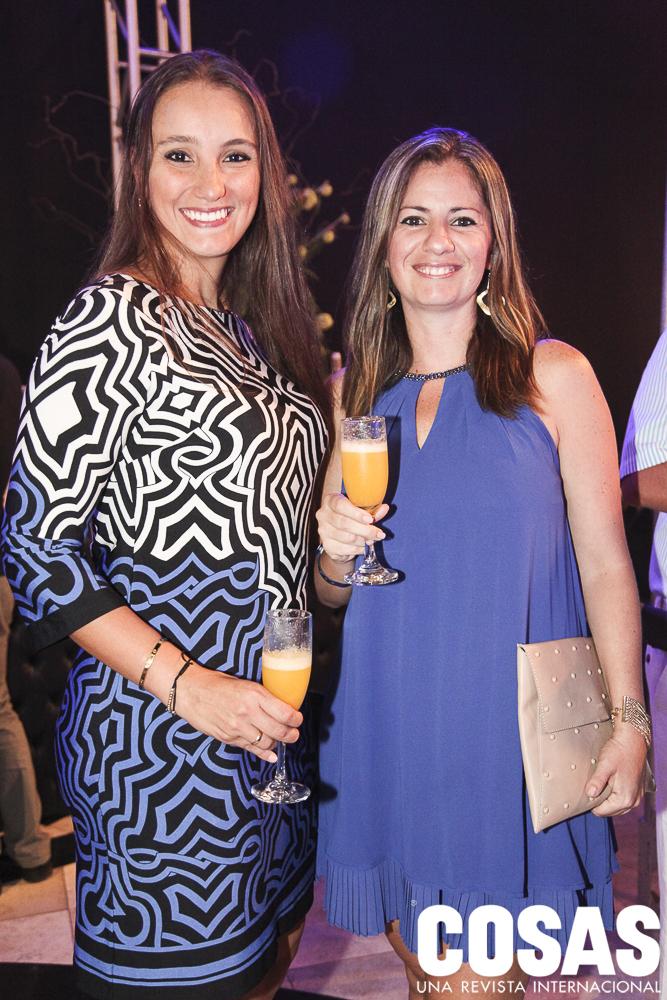 Claudia Vásquez y Natalia Barrios.