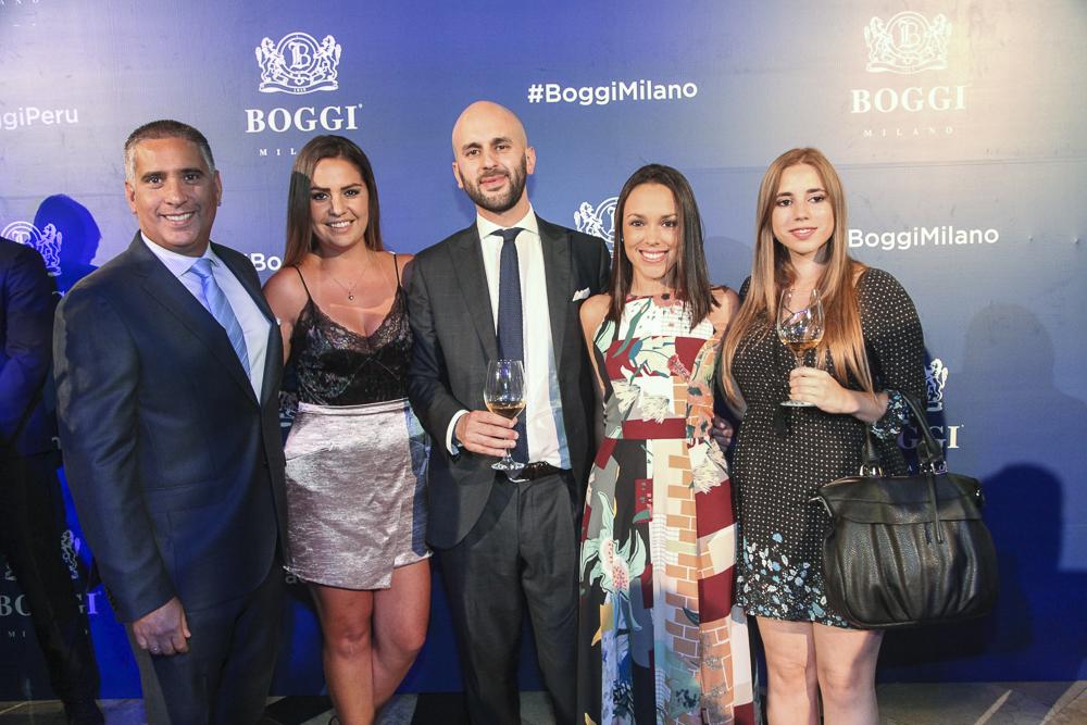 Adrian Espinoza, Laura Alatrista, Lorenzo Manzoni, Rosy Gutierrez y Luciana Silgado.