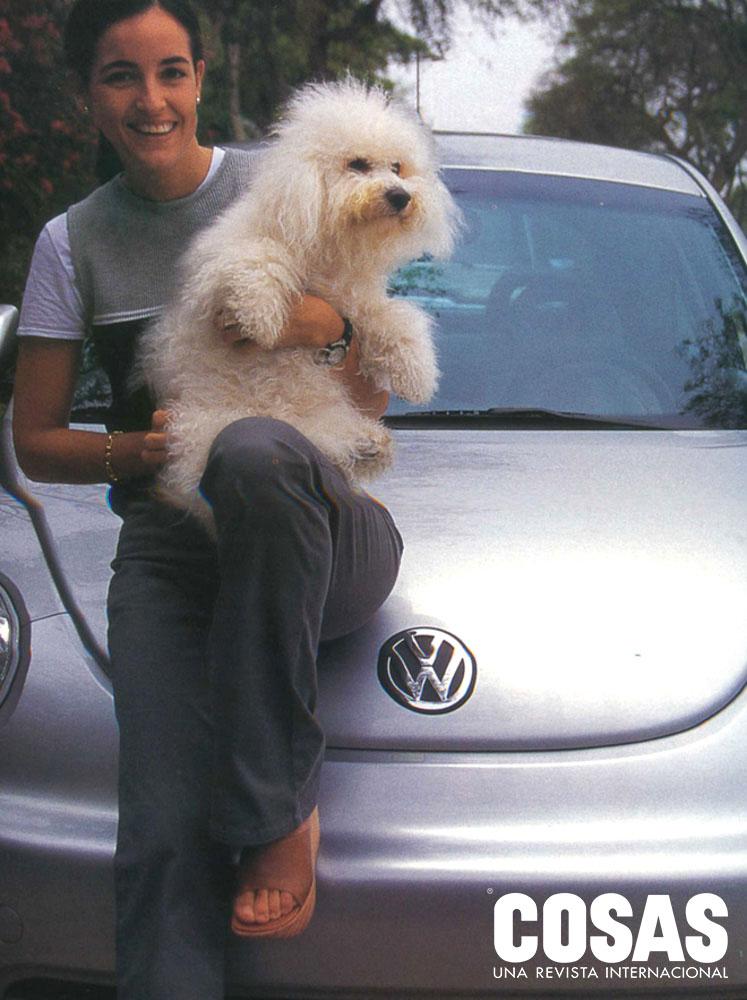 Gianna Menchelli, en Mujeres al volante, 1999.