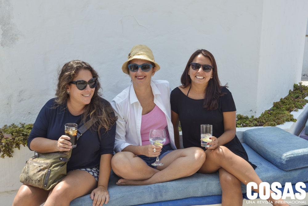 Paola Chiarella, Andrea Romero y Patricia Rojas