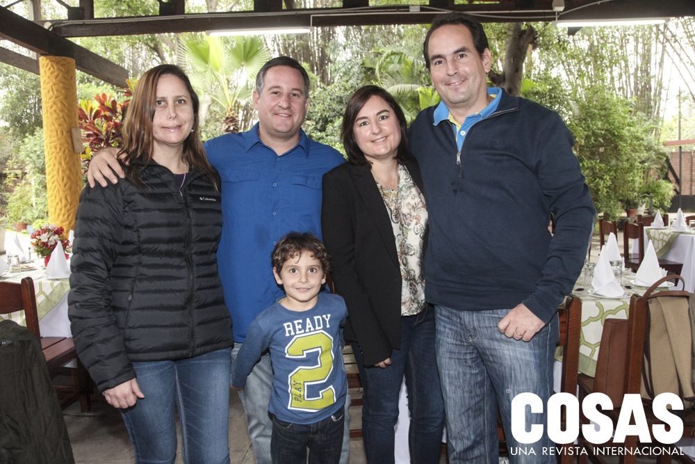 Andrea Moreyra, Miguel Moreyra, Maria Elena Moreyra, Rafael Moreyra y Joaquín Moreyra