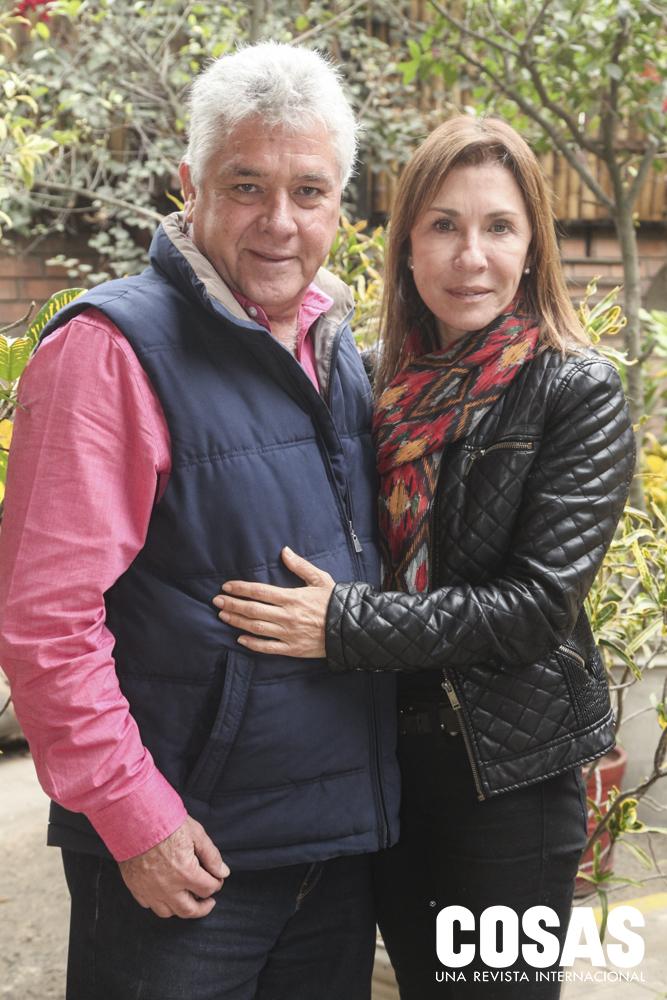 Dennis Gonzales y Norma Arbulú
