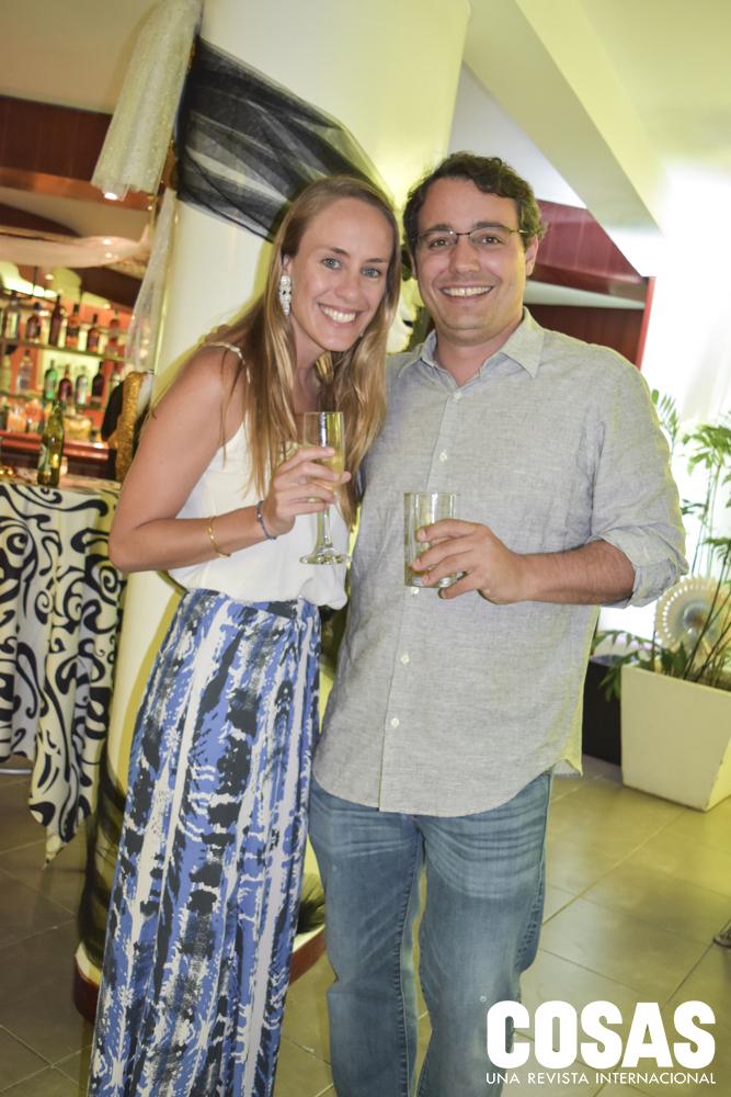 Luciana Valdez y Franco De Bernardis.