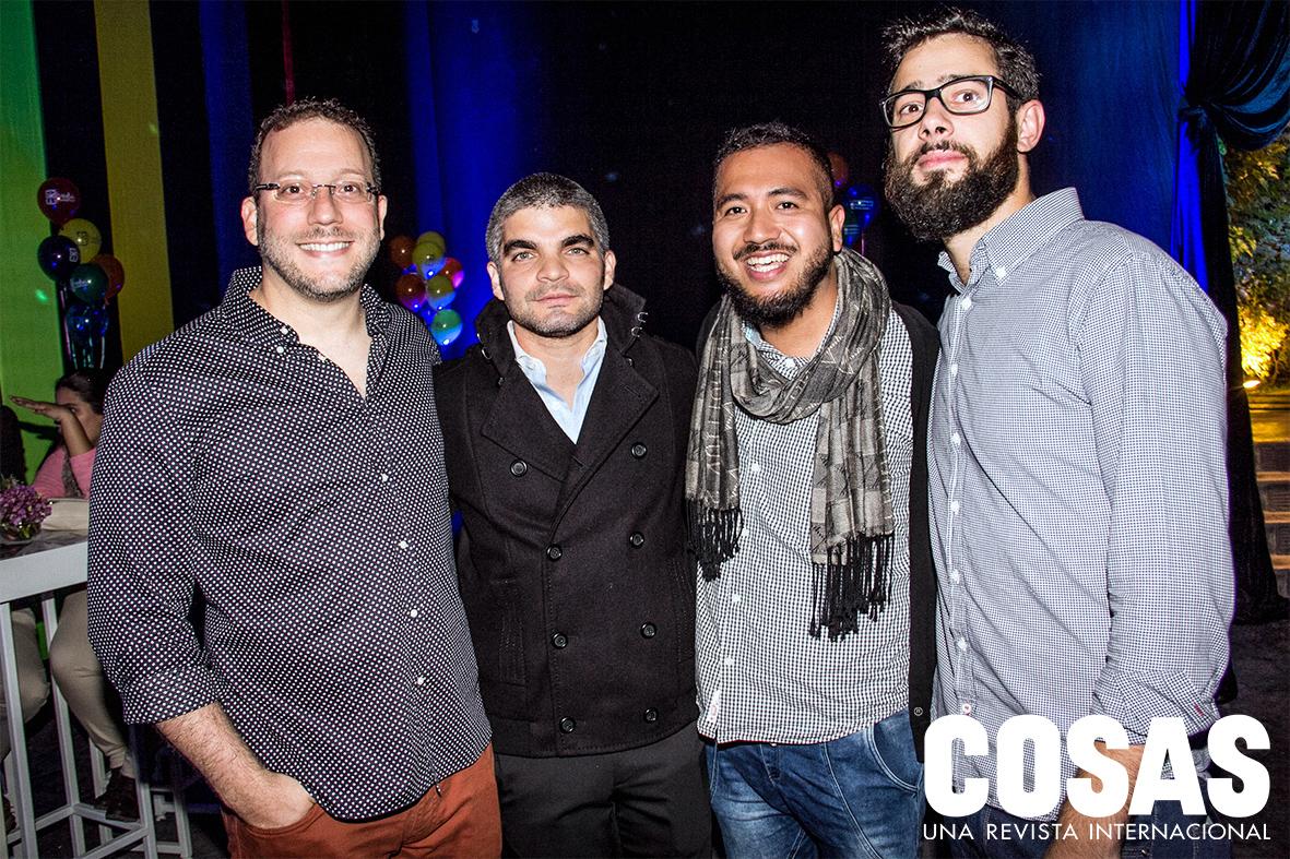Maurice Saux, Orlando Beaumont, Oscar Chang e Ion Benito.