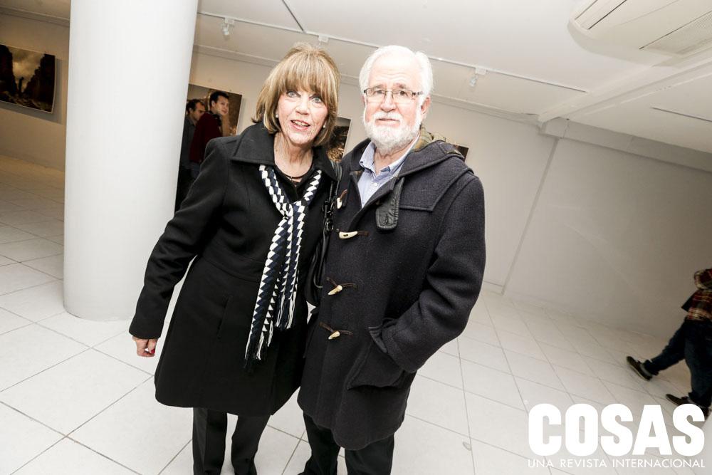 Annie Dargent y Carlos Dargent