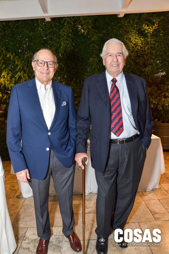 Juan Casabonne y Víctor Barreda