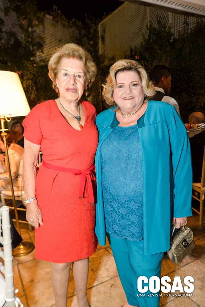 Rosa Larco y Martha Miró Quesada