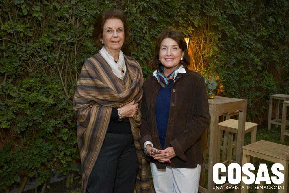 María Luisa Montes de Risso y Eliana Heinrich de la Rosa.