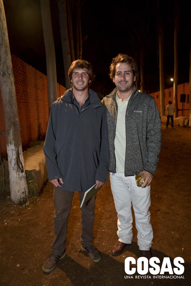 Sebastián Tintorer y Sebastian Onrubia.