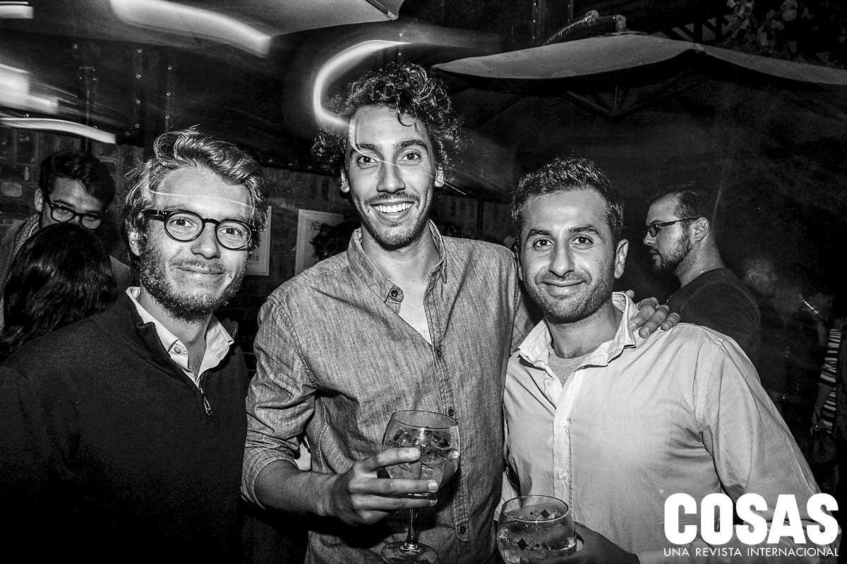 Denis Lerouxc, Morgan Zysman y Hassan Bourgi.