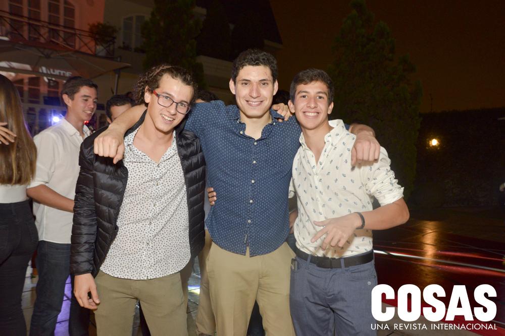 Lorenzo Tapia, Alonso Benavides y Santiago Ontaneda