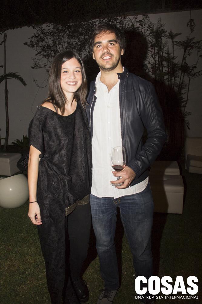 Mariana García Miró y Rodrigo Cavenecia.