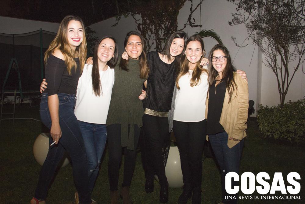 Dannia Marcillo, Lucía Echevarría, Isabella Cuglievan, Mariana García Miró, Lucia Benavides y Anahí Ballón.