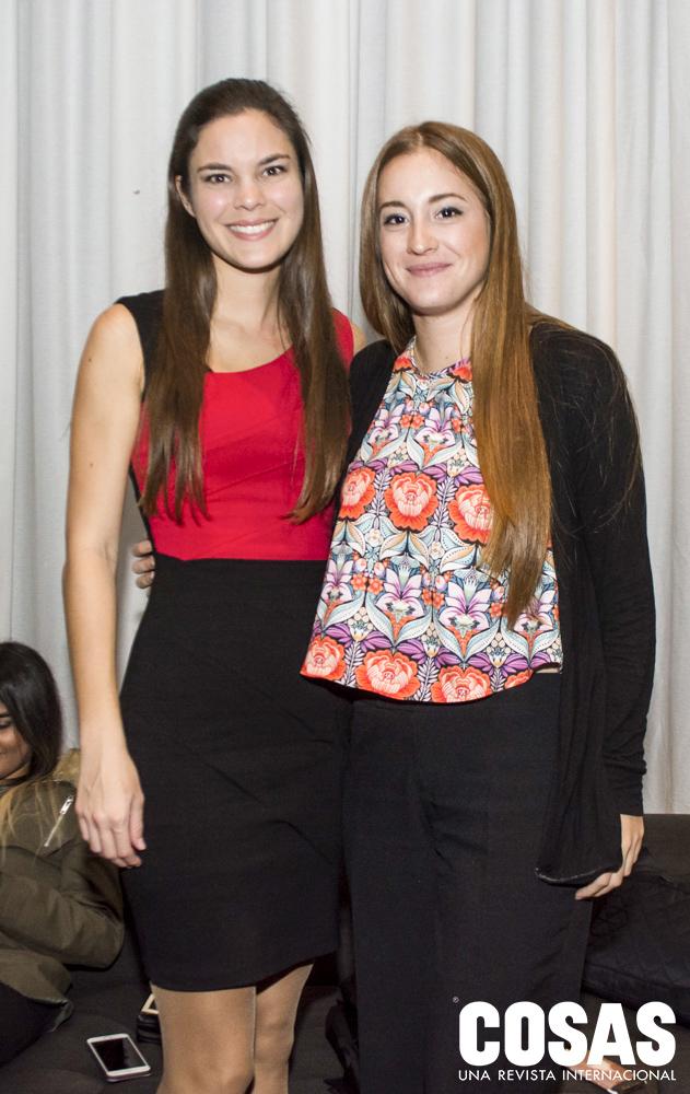 Gianna Seminario y Daniella Martens