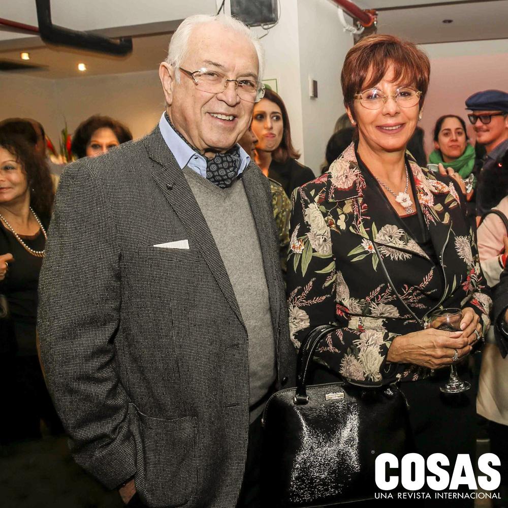 Bruno Pinasco y Sonia Oquendo