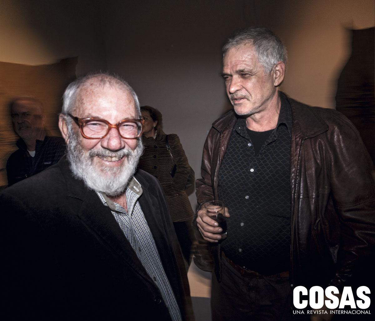 Javier Silva y Juan Javier Salazar, en Fórum