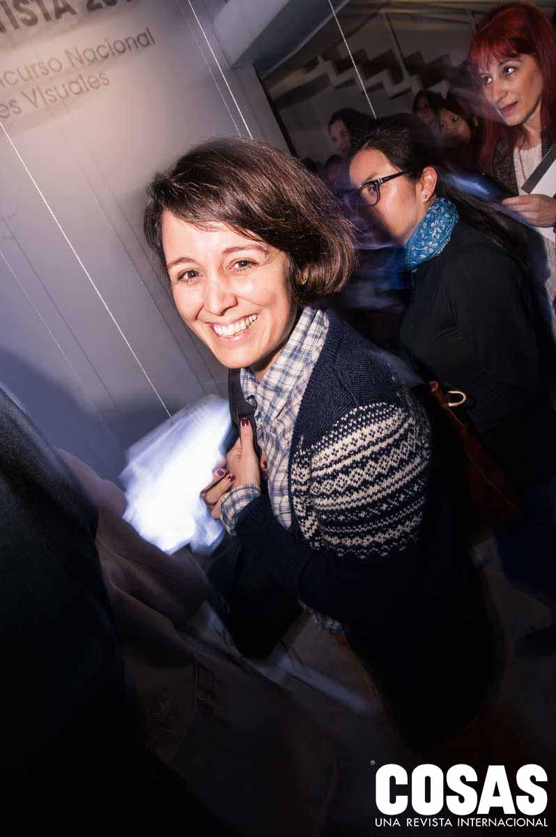 Maricel Delgado, en el C.C. de la PUCP
