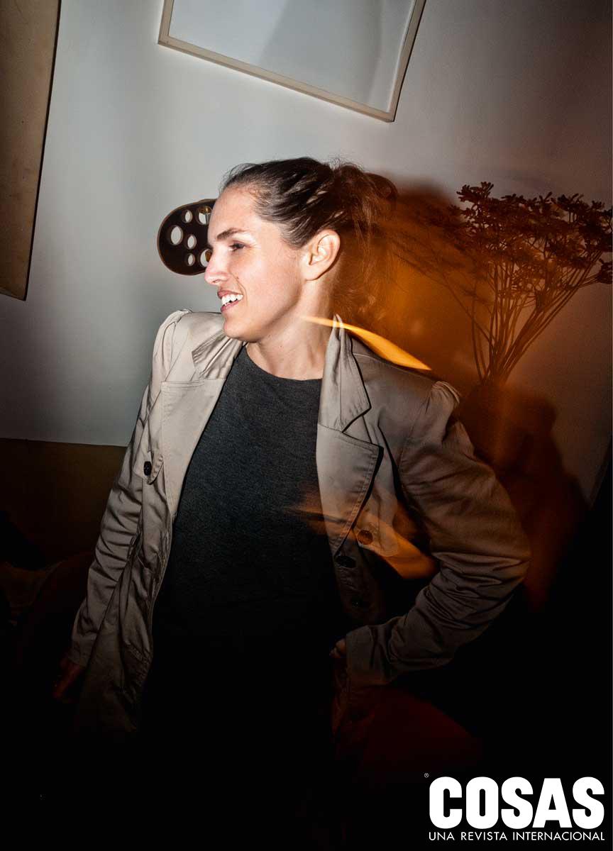 Solana Costa, en el Restaurante Rafael.