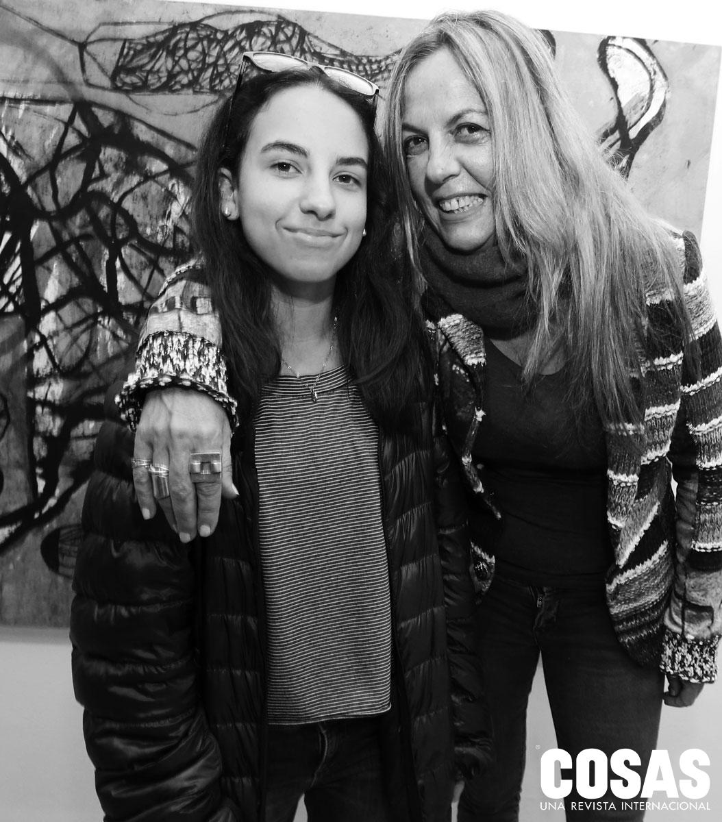 Zoe Ginocchio y Nina Mutal, en Forum.