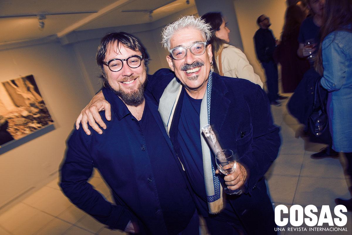 Jaime Oliver y Ezequiel Furgiuele, en Centro Cultural Ricardo Palma.