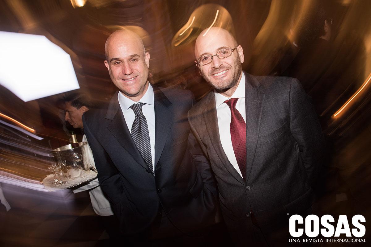 Bernardo Sambra y Dionisio Romero, en el MALI.