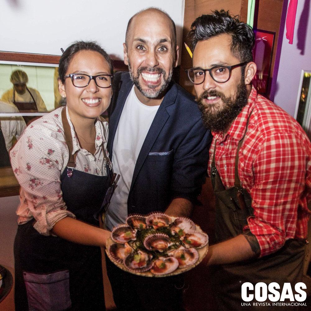 María Pía Uriarte, Damian Ode y Diego Malhue