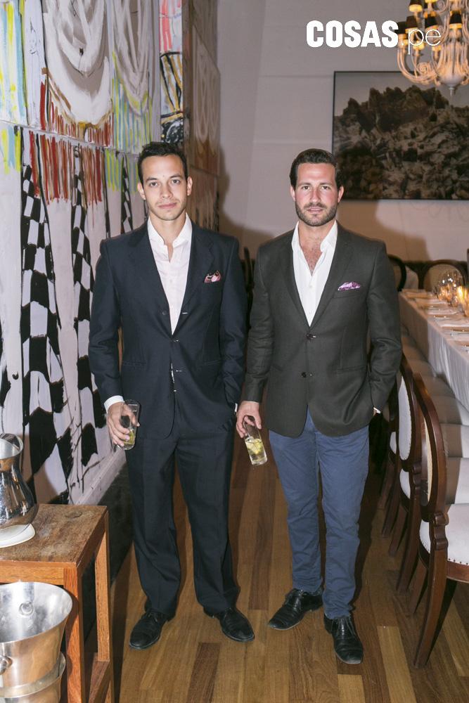 Giuseppe Bogani y Javier Millership