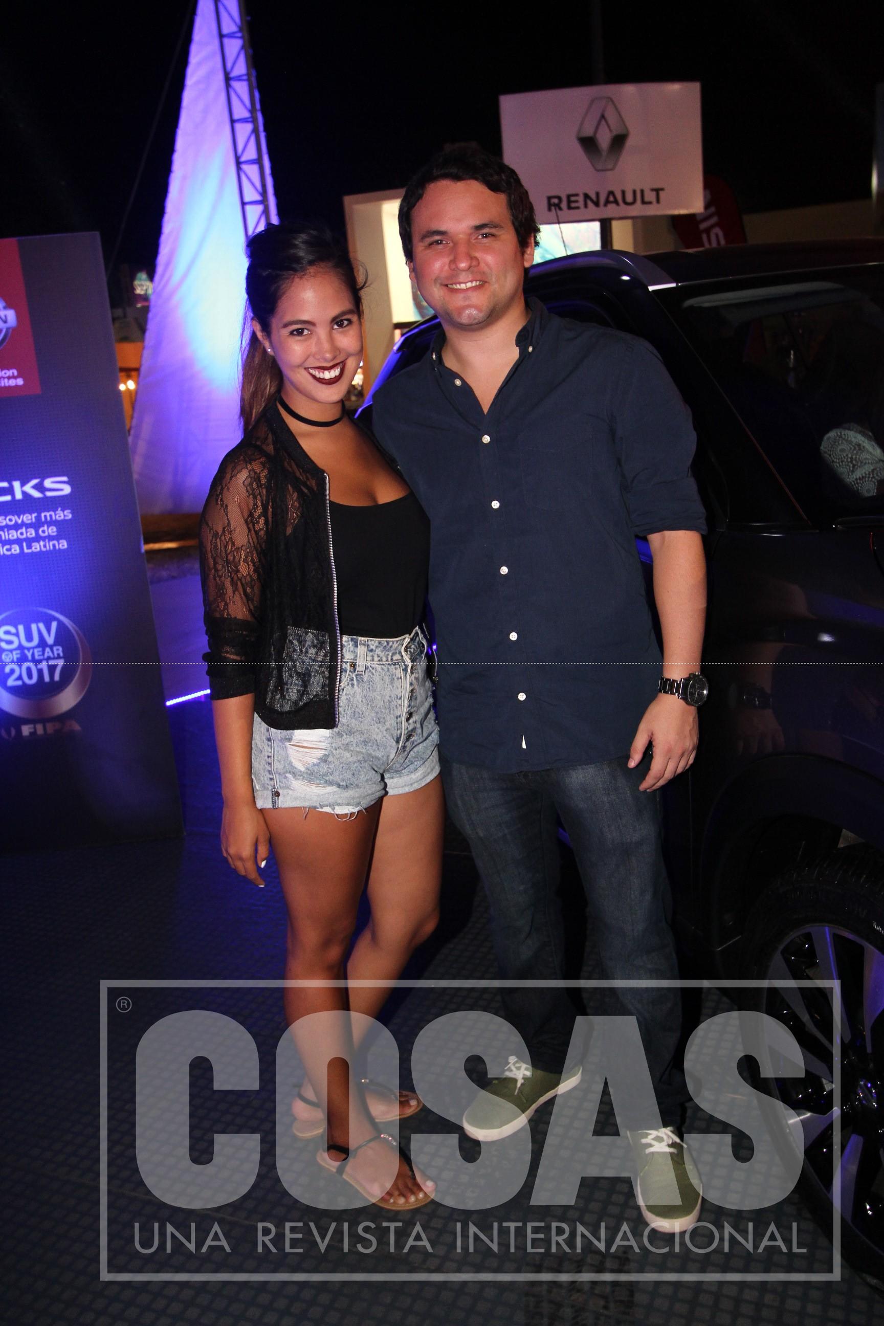 Aylin Tam y Rodrigo Conde.