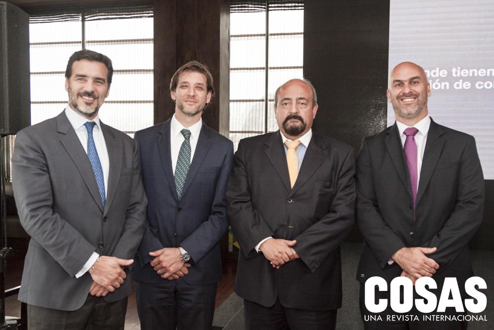 Segundo Mare, Nicolás Ziperovich, Daniel Guerra y Gonzalo Raffo.
