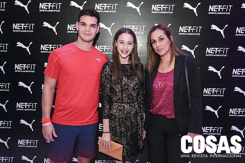 Joel Farach, Arianna Crosato y Suzanne Neumann.