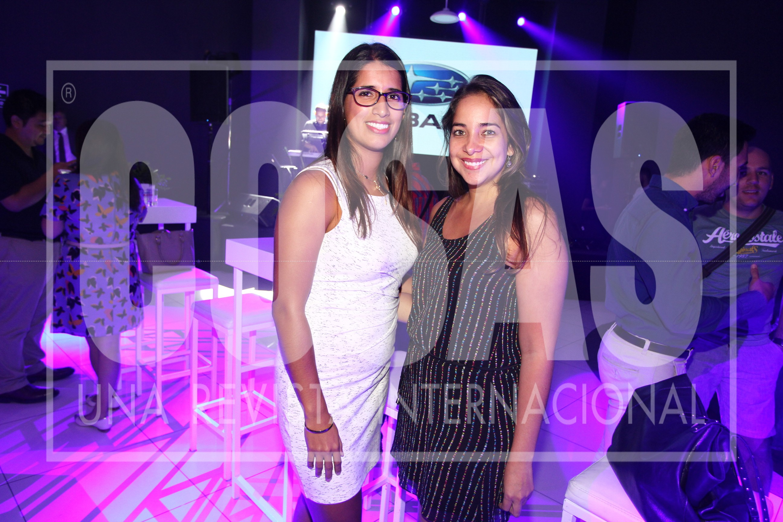 Claudia Sanchez y Ursula Wisse.