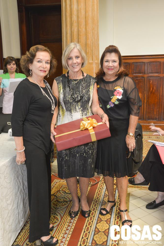 Lucy Perea, Renata Cánepa y Lala Ferrero