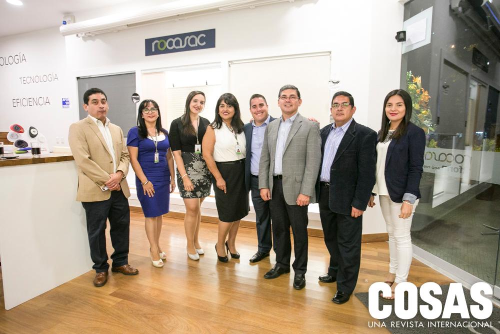 Hugo Saldaña, July Escudero, Elizabeth Valera, Patricia Parrales, Eduardo Quezada, Jorge Saldaña, Iván Saldaña y Karina Sánchez