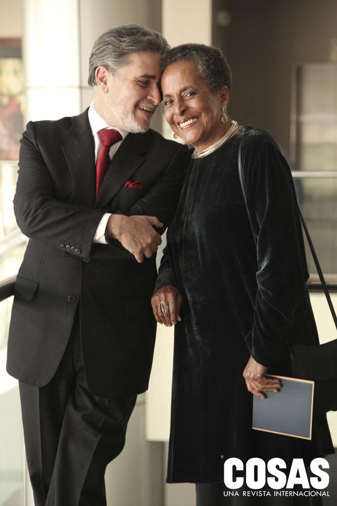 Ricardo Pereyra y Susana Baca