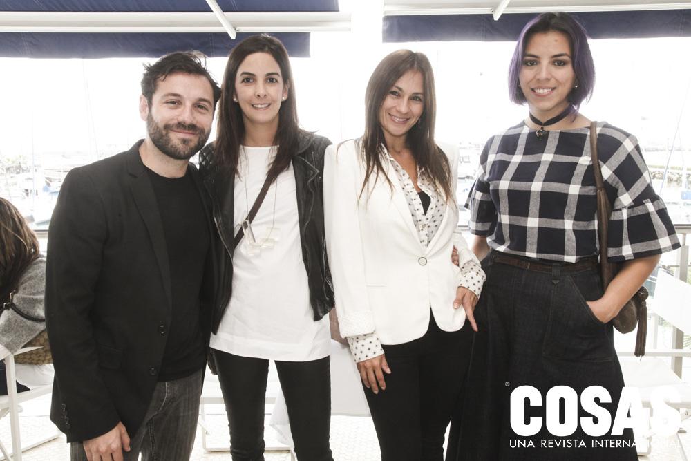 José Miguel Osorio, Mariana Bernal, Ximena Vargas y Érika Zielinski.