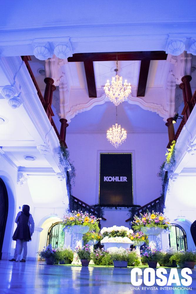Hall de ingreso evento Kohler
