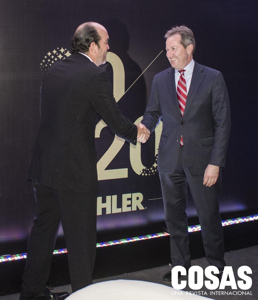 Renzo Del Risco y John Ryan
