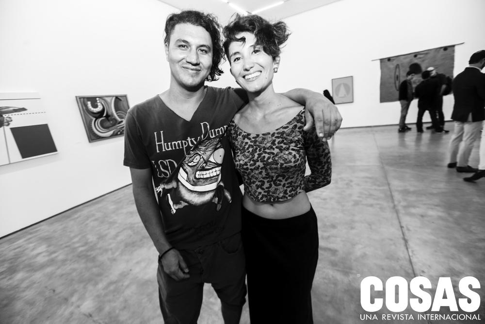 Camilo Lotero y Beatrice Londoño.