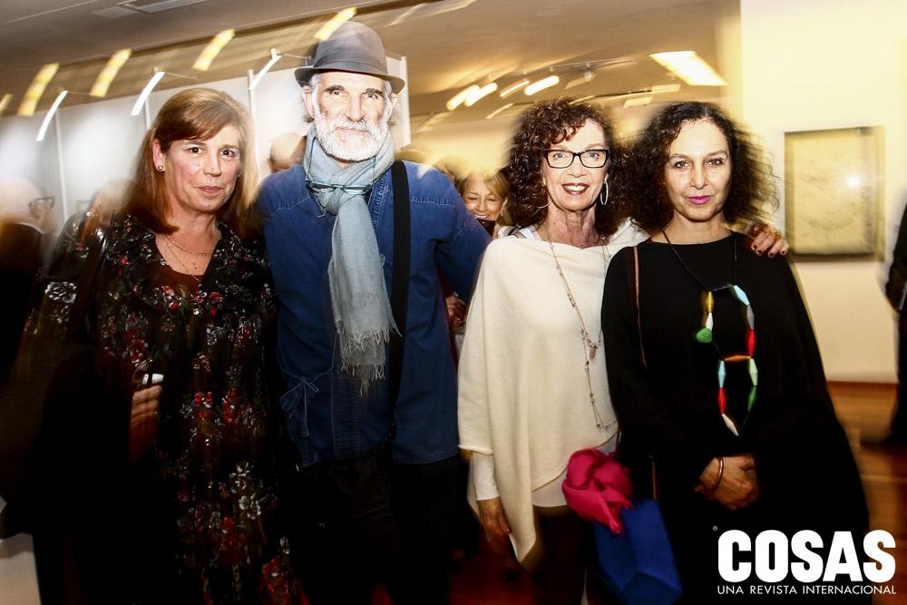 Carolina Kecskemethy, Rhony Alhalel, Fanny Treistman y Rocío Rodrigo.