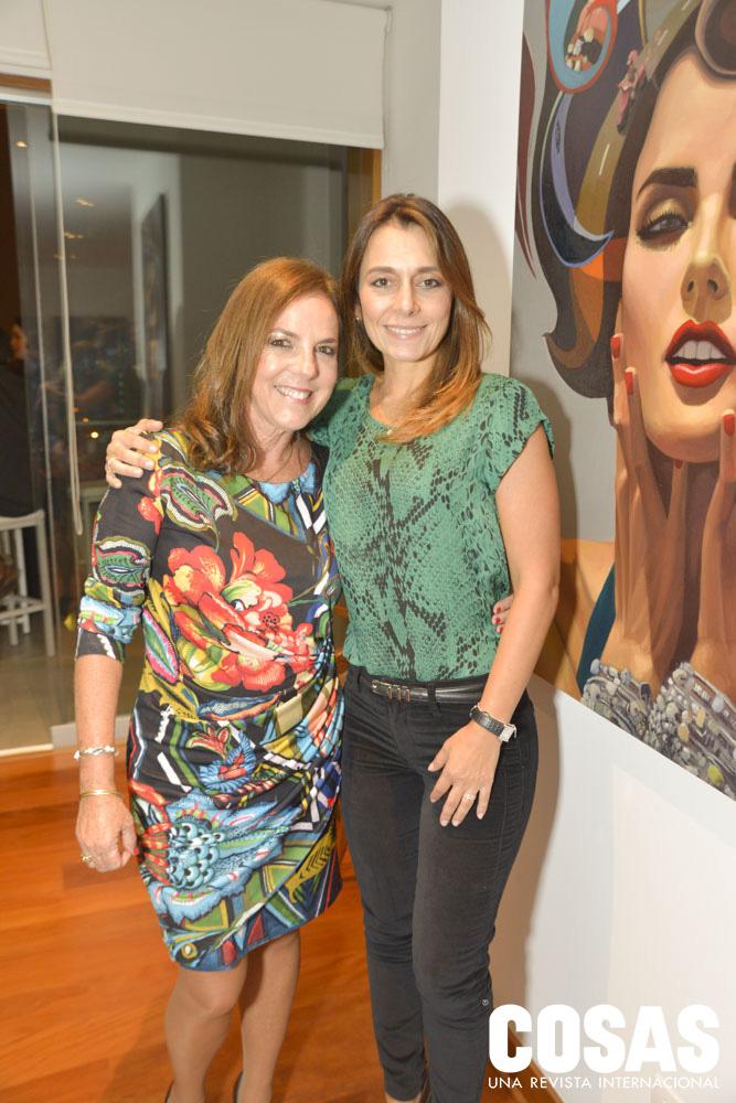 Marité Rospigliosi y Alessandra Ciardello