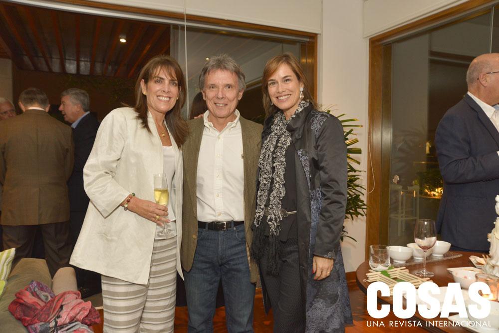 Marcela Núñez, Antonio Pratto y Marcela Benavides