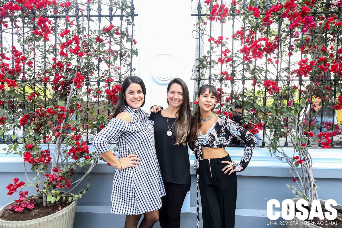 Valeria Tenaud, Daniela Rodríguez Araoz y María Belén Rojas