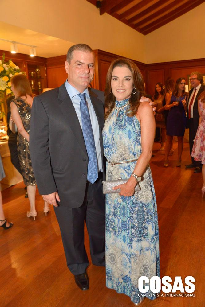 Andrés Tealdo y Marita Musiris