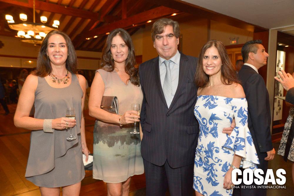 Inés María Giraldo, María Alejandra Pinillos, Miguel Wiesse y Sonia Cacho Sousa