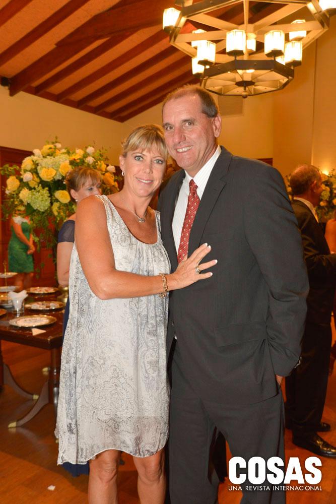 Karin Hohagen y Aldo Casalino