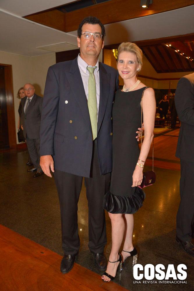 Fernando Romero y Úrsula Bernard