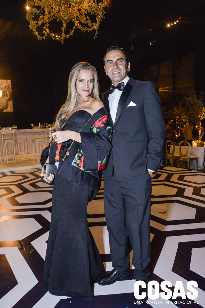 Jennifer Houghton y Carlos Cabieses
