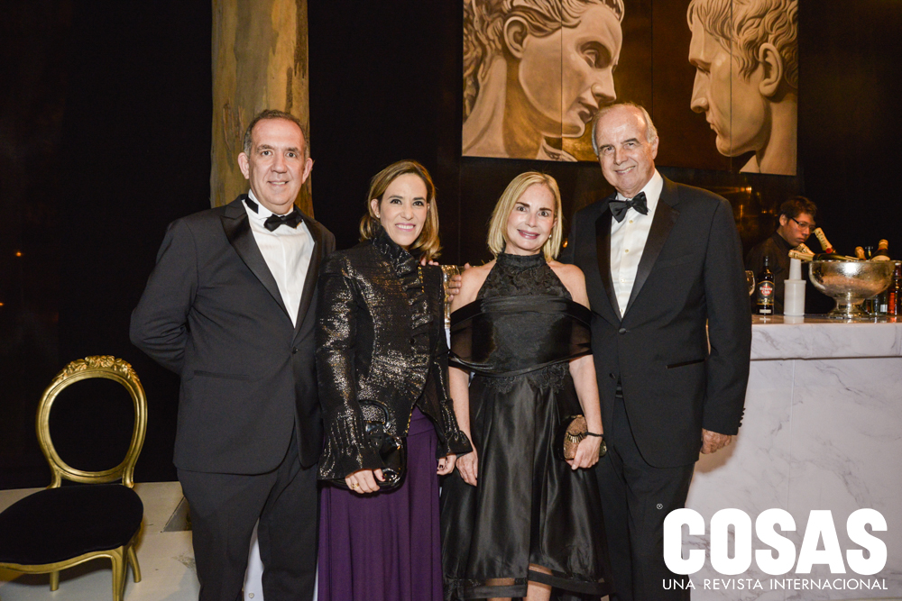 Lucho Carbone, Quecha Forsyth, Patricia Seminario e Ismael Benavides