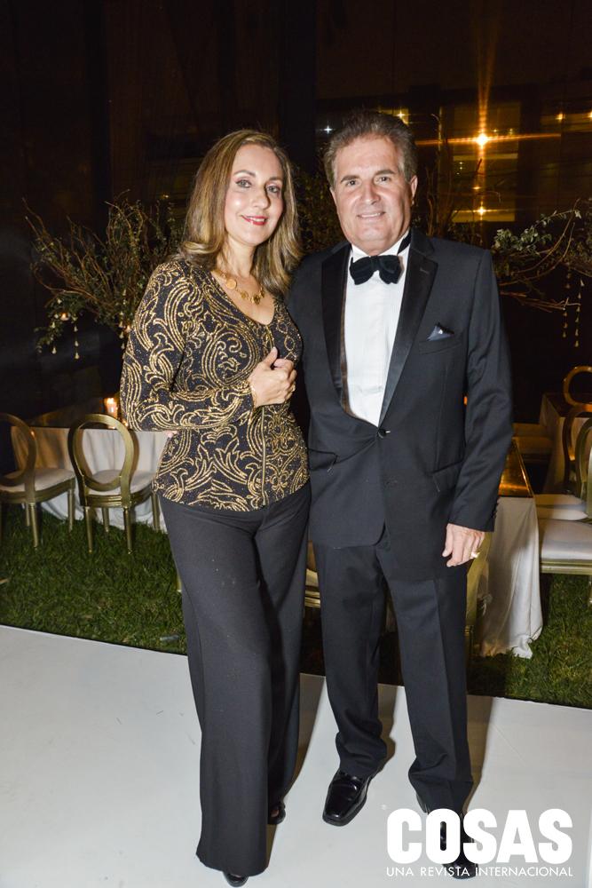 Rocío Tudela y Alejandro Tudela