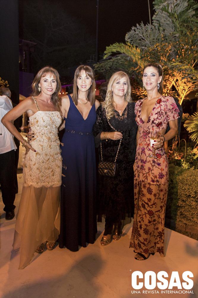 Ana Felman, Claudia Garrido, Lucero Berry y Luciana Carozzo.